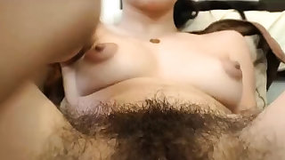 Hairy unshaved..